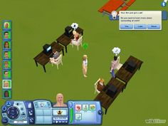Weird things to do when playing the sims!