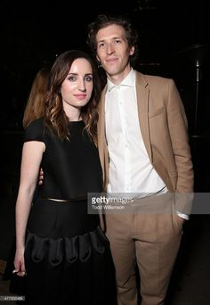 Zoe Lister-Jones and Director Daryl Wein attend the after party for the 2015 Los Angeles Film Festival Premiere Of Mister Lister Films' 'Consumed' at Hotel Figueroa on June 15, 2015 in Los Angeles, California.