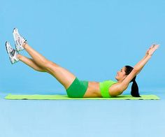 Fast Workout for Firm, Flat Abs | Fitness Magazine