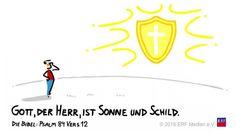 """""""Denn #Gott der #HERR ist #Sonne und #Schild; / der #HERR gibt #Gnade und #Ehre. Er wird kein #Gutes mangeln lassen den #Frommen.""""#Psalm 84:12 #glaubensimpulse"""