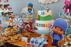 Pocoyo Birthday Party Ideas   Photo 10 of 15