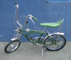 Vintage Unrestored All Original 1971 Schwinn Green Pea Picker Bike Bicycle | eBay