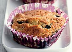 Muffins med banan og blåbær | Ude og Hjemme