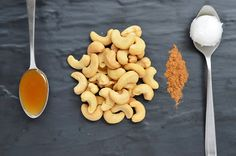 Honey Cinnamon Cashew Butter...this is 3 of our favorite ingredients!  Don't forget to use raw honey