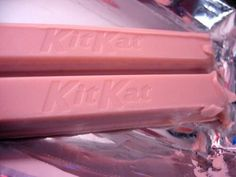 Pink on a kit Kat no thank you! For the pink board get ready for more colors Pink Love, Pretty In Pink, Pastel Pink, Pink Purple, Magenta, Objet Wtf, Pink Foods, Pink Themes, Everything Pink
