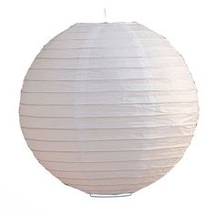 "White 8"" Lantern for $1.99 in Lanterns - Decorations"
