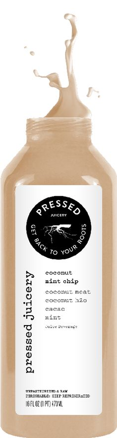Pressed Juicery - Juice Menu