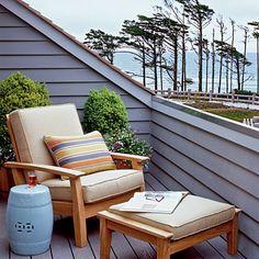 2010 Coastal Living Ultimate Beach House, Seabrook, Washington: Upstairs Deck