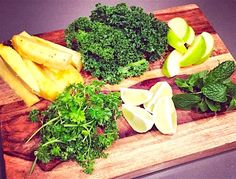 Tropical Green Juice Recipe | This green juice has personality. It's light and zippy and the sweetness from the pineapple is nicely balanced by the tart apple and lime. Ingredients 1 handful parsley 1 handful mint 3 – 4 kale leaves 1 lime, zest removed but leave as much pith (the white stuff in between the skin and the fruit)...Read More »