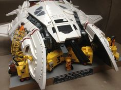 Rocketumblr | LEGO SYD MEAD's Dropship