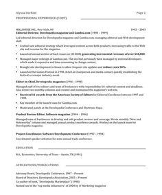 web producer page2 free resume samples - Web Producer Resume