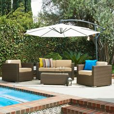 5-Piece Stephanie Patio Seating Group | Joss & Main