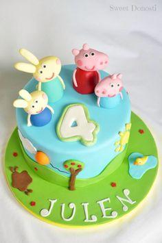 Sweetdonosti.blogspot.com.es Peppa pig cake