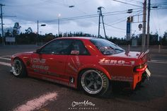 Of all of the drift cars available on the Japanese market, the Nissan S13 Silvia has always been a driver favorite.  Its body styling never seems to grow old, a