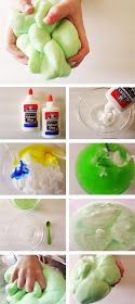 Popular Pins From Pinterest App: Homemade Flubber Recipe
