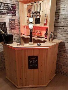 Home Bar Rooms, Diy Home Bar, In Home Bar Ideas, Home Wine Bar, Home Bar Decor, Drink Bar, Bar Drinks, Home Bar Plans, Basement Bar Plans