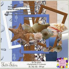 Helping you leave a legacy of faith. Digital Scrapbooking, Sisters, Faith, Paper, Beach, The Beach, Seaside, Big Sisters, Believe