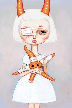 """""""Starfish Nurse"""" by Melanie Schultz"""
