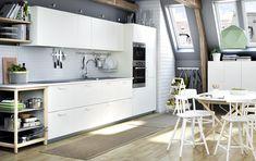 METOD keuken | #IKEA #IKEAnl #modern #wit #keukensysteem #inspiratie #VEDDINGE
