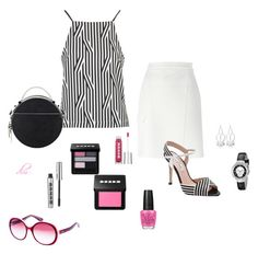 """Pink"" by dmiddleton ❤ liked on Polyvore"