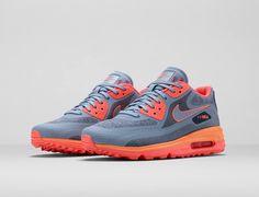 Grey & orange air max.