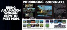 Genesis - Golden Axe Ad