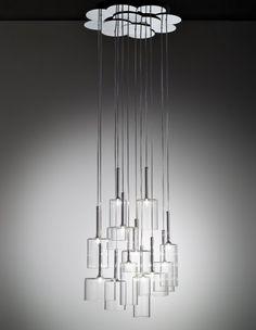 Axo Light   Spillray Suspension, Crystal   for Reception Area