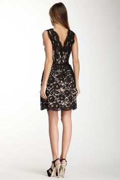 Timeless Look- Scalloped Lace Dress