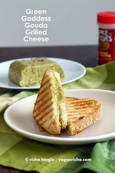 Green Goddess Gouda Vegan Cheese and Vegan St. Patrick's Day Round up. - Vegan Richa
