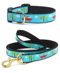 This Ragtop Dog Collar & Leash Set is perfect! #zulilyfinds