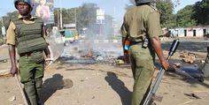 Chaos in Kisumu after Oile Market stalls demolition