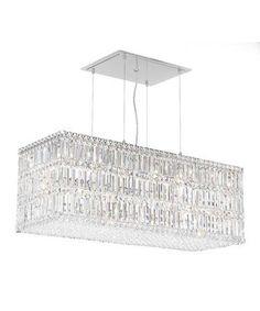 Adeline crystal rectangular chandelier lighting pinterest adeline crystal rectangular chandelier lighting pinterest rectangular chandelier chandeliers and lights aloadofball Image collections