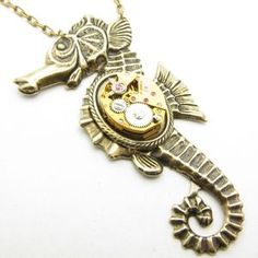 Metal mechanical seahorse - Google Search