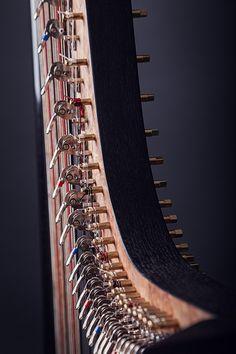 Instrument on Behance. Harp, Behance, Gallery, Music, Musica, Musik, Muziek