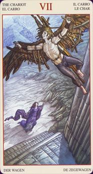 Example card from the Mona Lisa Tarot deck. DISCOVER MORE: http://www.tarotacademy.org/mona-lisa-tarot-english-and-spanish-edition-2/