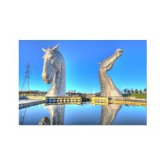The Kelpies HDR Hahnemühle Photo Rag Print – Photogold Gifts for Men