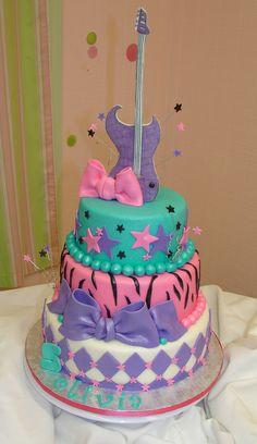 Olivia's Rock Star Birthday Cake | Flickr - Photo Sharing!