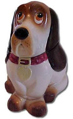 *BASSETTE HOUND ~ Cookie Jar
