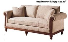 Woodstock Sofa - Buy modern furniture online or Shop at India's leading furniture store in Delhi. Exclusive range of sofas and Living room furniture at Living Spaces.