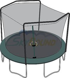 15 Ft Semi Universal Hd Trampoline Net Trampoline Parts
