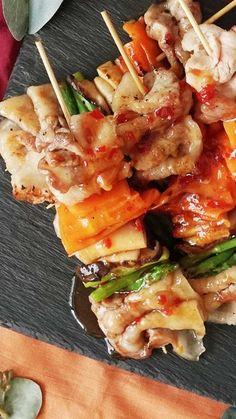 Pork Recipes, Cooking Recipes, Healthy Recipes, Japanese Food, Pasta Salad, Love Food, Carne, Easy Meals, Food And Drink