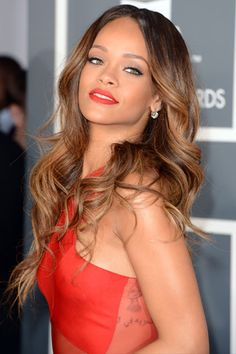 love this lip color ... The Beauty Evolution of Rihanna, from Island Girl to Fashion Icon