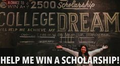 Hello everyone. Please help me win the Jerrybuilt Homegrown Burgers' scholarship contest on facebook. Click LIKE & Share on the photo. I have 1 more day till this contest ends.   Thank you!    Ends on May 27th at 4pm. I'm in second place and need everyones help.  #college #collegestudent #university #scholarship #contest #burgers #help #houstontx #houston #universityofhouston #sigmakappa #sk #dovelove #collegedream #dreams #facebook #united