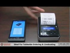 Printing Receipts From An Android Phone With Star Micronics SM-S200 Portable Printer