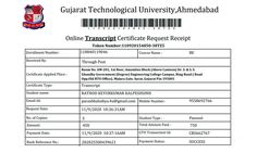 Gujarat Technological University GTU Transcript   GTU - Gujarat Technological University   Ahmedabad, Gujarat Degree Certificate, Engineering Colleges, Application Form, New Students, Ahmedabad, University, Language, How To Apply, Freshman Year