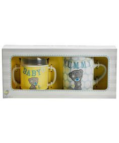 Buy Me to You TTT Mug Set at Argos.co.uk, visit Argos.co.uk to shop online for Baby tableware sets, Christening and new baby gifts