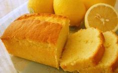 French Yogurt Cake with Lemon and Blueberries Lemon Tea Cake, Lemon Bundt Cake, Loaf Cake, Lemon Loaf, Lemon Cakes, Loaf Recipes, Pound Cake Recipes, Cooking Recipes, Tea Cakes