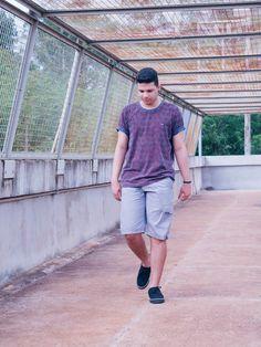 Moda Aprovada - Blog de Moda Masculina: LOOK DO DIA: CAMISETA COM ESTAMPA EM FOLHAGENS