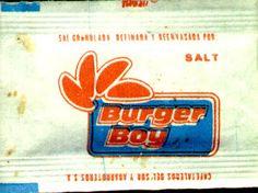 Sobre de Sal de Burger Boy