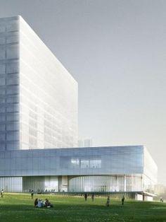 M+ museum for modern and contemporary art, Hong Kong by Herzog & de Meuron Architects